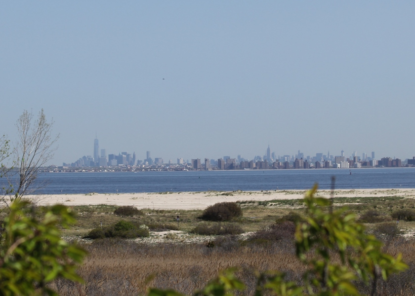 View of Manhattan from Sandy Hook