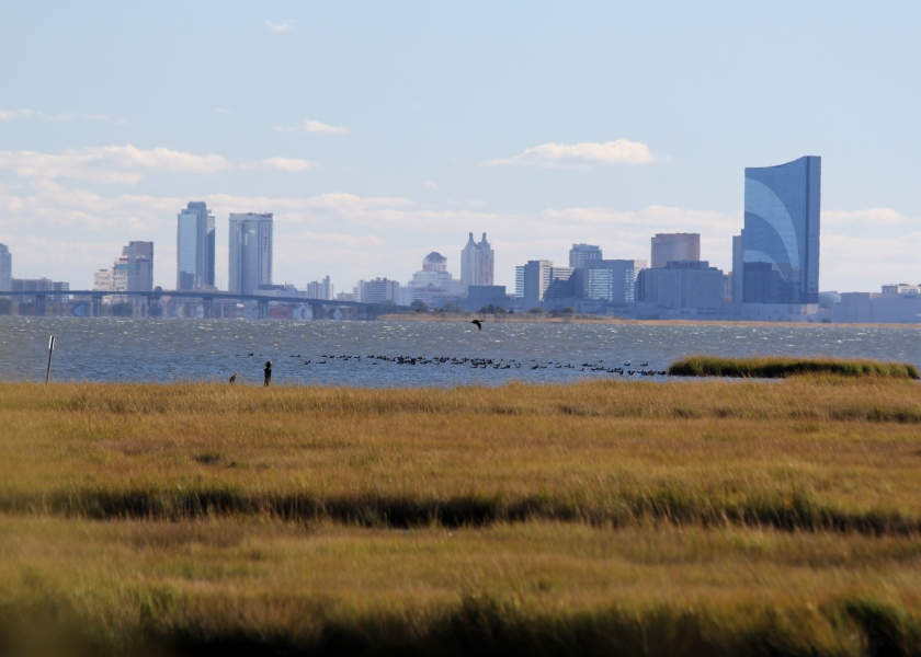 Atlantic City visible from Brigantine